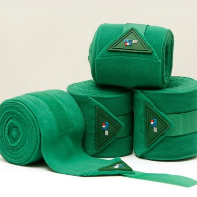 Premier Equine polo Fleece Bandages-Green